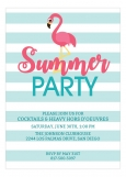 Pink Flamingo Summer Party