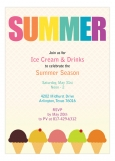 Summer Ice Cream Party