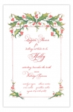 Morris Holly Holiday Party Invitation