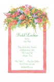 Cutting Bed Bridal Shower Invitation