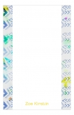 Blue Arrows Cute Printed Notepads
