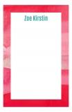 Watercolor Reds Custom Notepad