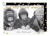 Shimmering Holiday Photo Card