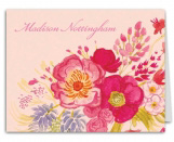 Vintage Floral Thank You Note