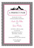 A Classic Perfect Pair Invitation