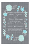 A Garden Wedding Invitation