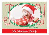 A Joyous Wreath Photo Card