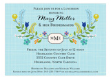 A Wildflower Wedding Invitation