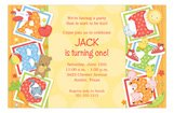 ABC, 123 Invitation