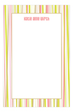 Abstract Stripes Notepad
