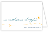 All is Bright Greeting Card