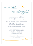 All is Bright Invitation