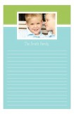 Aqua Photo Notepad