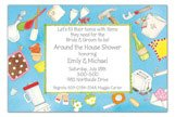 Around the House Shower Invitation