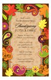 Autumn Paisleys Invitation