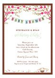 Baby Bird Invitation