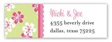 Baby Jungle Pink Address Label