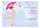 Baby Love Reigns Invitation