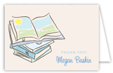 Baby Shower Books Boy Note Card