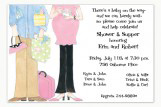 Baby Shower Couple Invitation