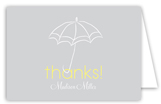Baby Shower Umbrella Neutral Note Card