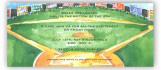 Ball Field Invitation