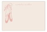 Ballet Shoes Flat Note Card
