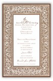 Bandana Brown Invitation