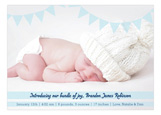 Banner Greeting Boy Photo Card