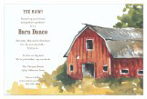 Yee Haw Barn Dance Party Invitations
