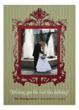 Baroque Frame Photo Card