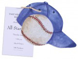 Baseball Cap and Baseball Invitation