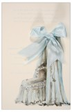Bassinet Blue Invitation