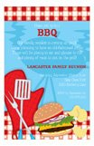 Backyard Picnic BBQ Cookout Invitations