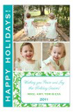 Beautiful Floral Multiple Photo Card