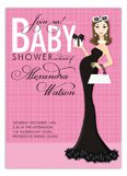Beautiful in Pink Baby Shower Invitation