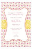 Bella Pink Polka Dots Invitation