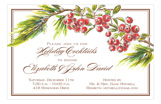 Berry Boughs Invitation