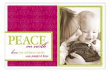 Berry Peace on Earth Photo Card