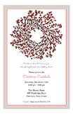 Berry Wreath Invitation