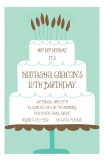 Big Cake Invitation