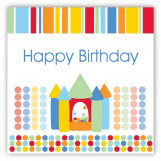 Birthday Bounce Primary Gift Tag