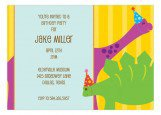 Birthday Dinos Kids Dinosaur Party Invitations
