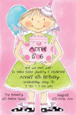 Birthday Girl Invitation