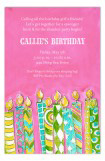 Girls 10th Birthday Party Invitations