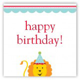 Birthday Lion Gift Tag