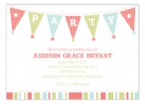 Birthday Party Banner Invitation