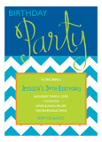 Birthday Party Script Royal Invitation
