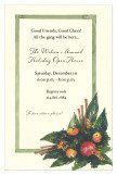Bittersweet and Cinnamon Holiday Invitations