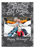 Grey Baby it is Cold Outside Photo Card